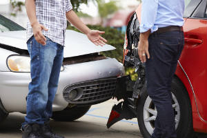 car accident, rear end collision